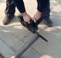 单手锯设备